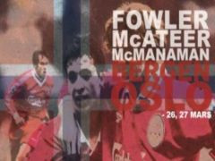 5Times Liverpool Legends in Norway, Fowler, McManaman and McAteer, Oslo, March